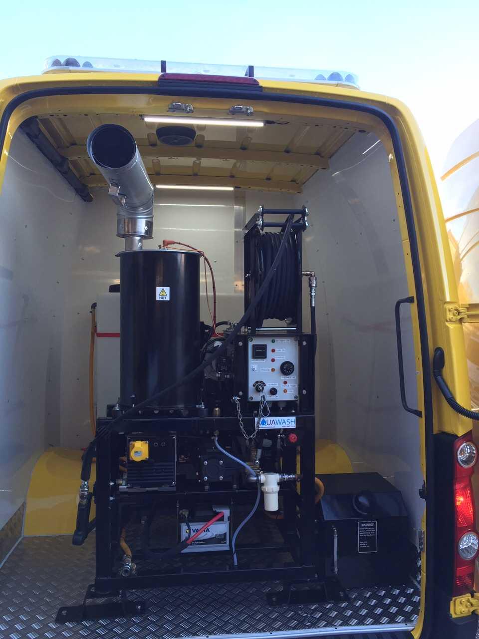 Diesel Powered Van Pack Dirt Driver
