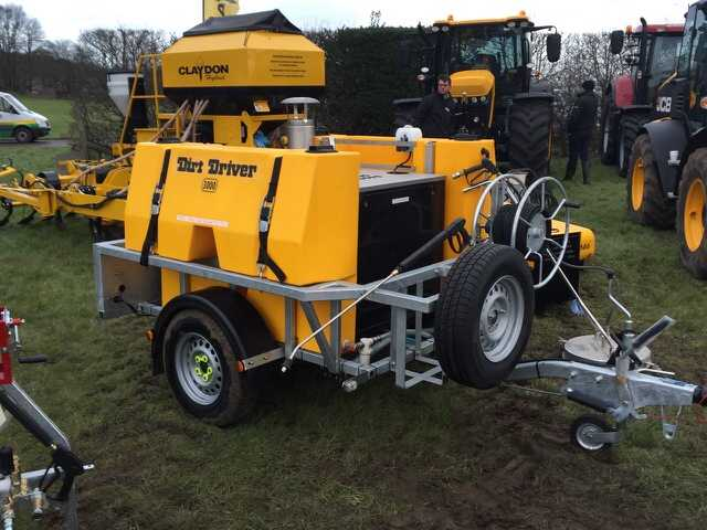 Saddle Tank Trailers Dirt Driver
