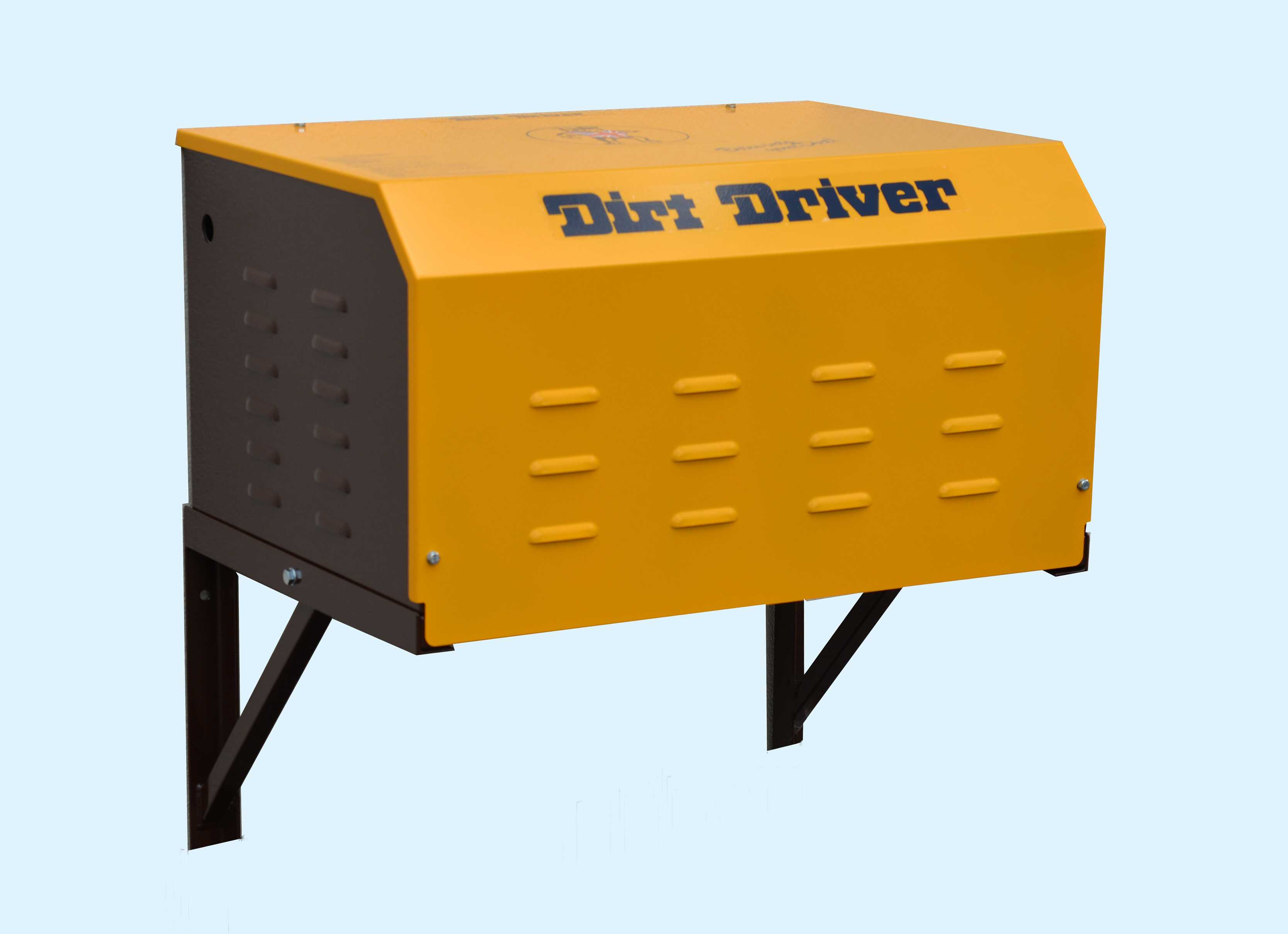Wall Mounted High Pressure Cold Washer Dirt Driver
